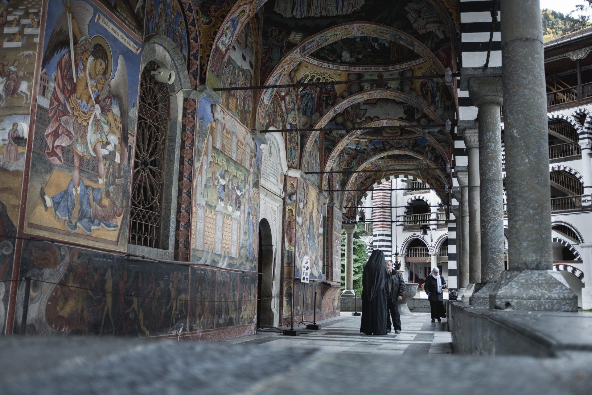 Monastère de Rila, Bulgarie, 2017