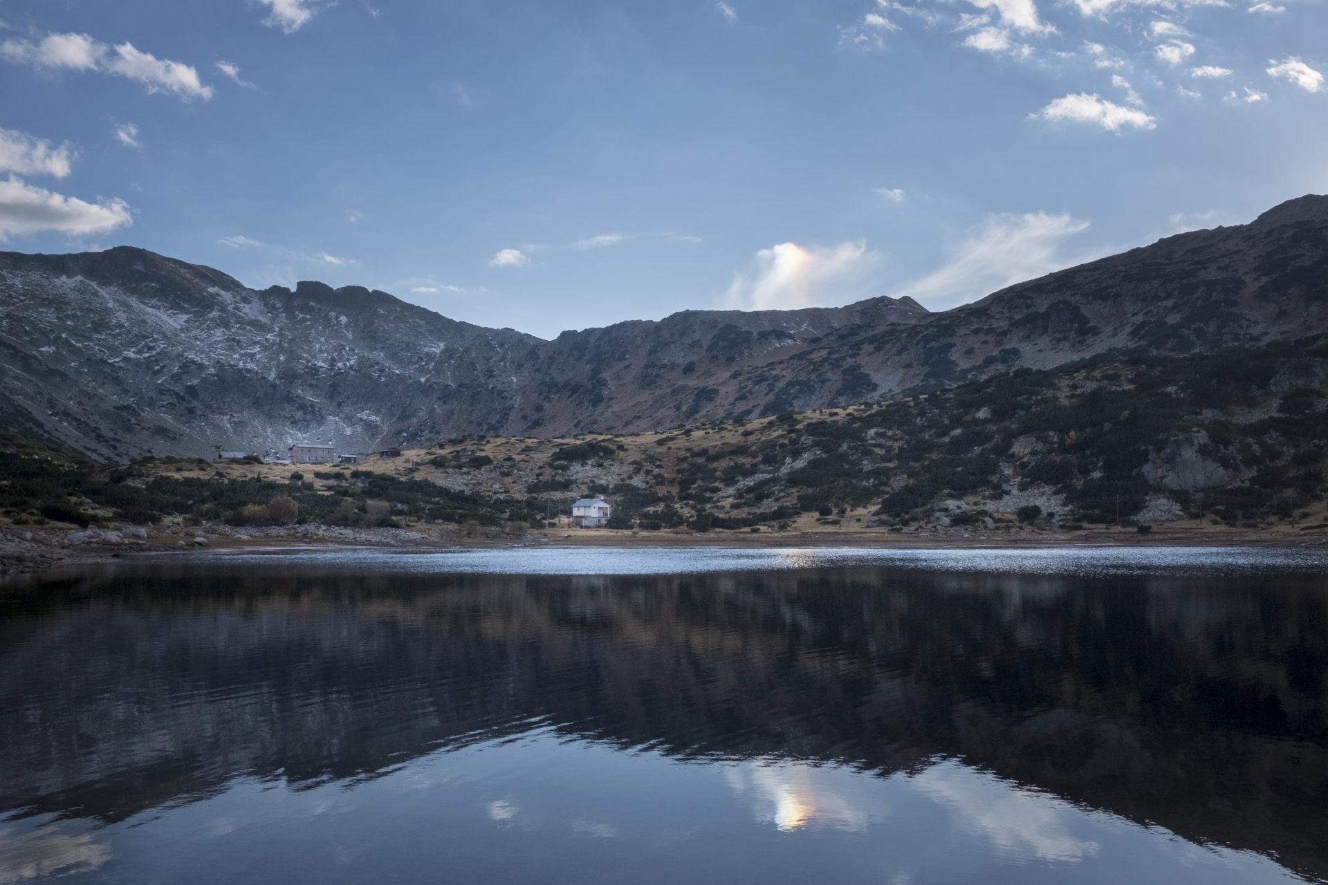 Refuge de Ribni ezera, randonnée des sept lacs, montagne de Rila, Bulgarie, 2017